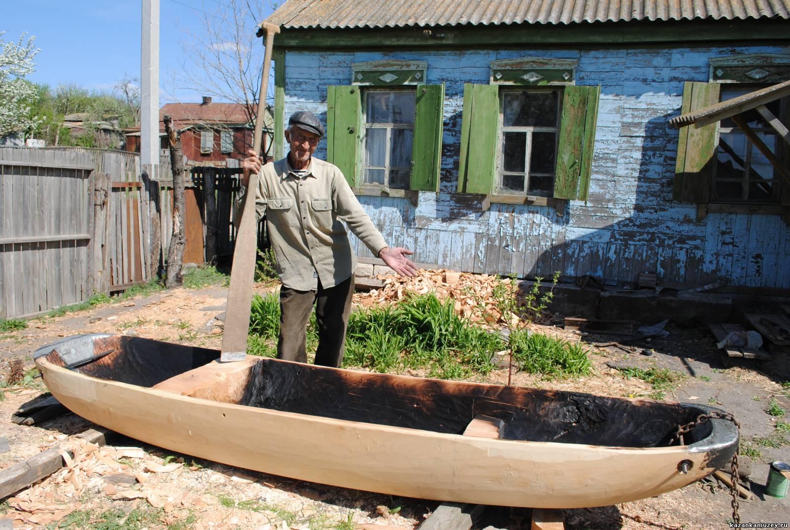 Лодка долблёнка своими руками