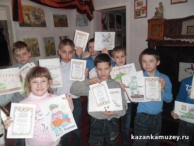 Конкурс рисунков краеведческий